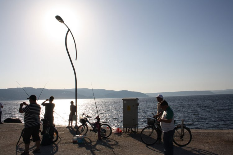 fishing in Canakkale