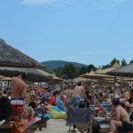 Greece Halkidiki Paliouri beach, best beach bars in Halkidiki Lefki Ammos