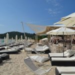 Greece Halkidiki Paliouri beach, best beach bar in Halkidiki Cabana 13