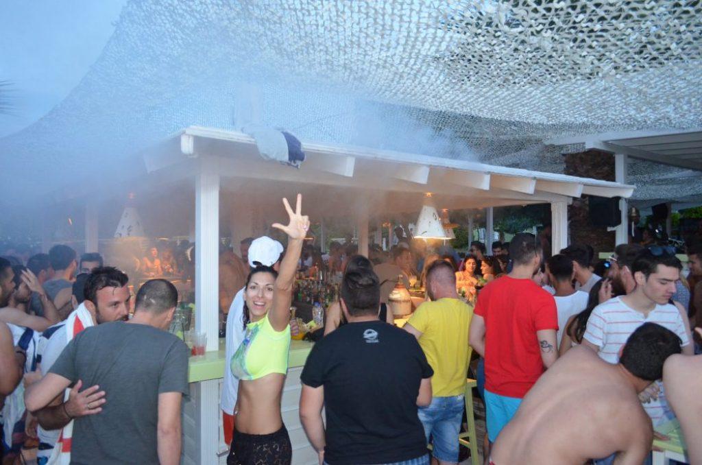 Summer time in Kassandra, Halkidiki-Greece-nightlife