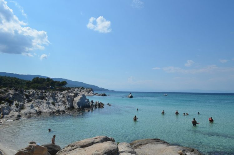 summer time in the most picturesque beach in Sithonia, Kavourotrupes 10