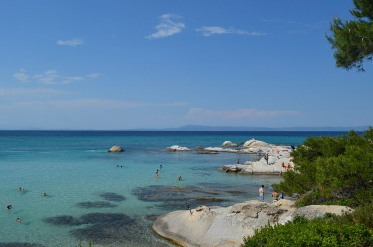 summer time in the most picturesque beach in Sithonia, Kavourotrupes 19
