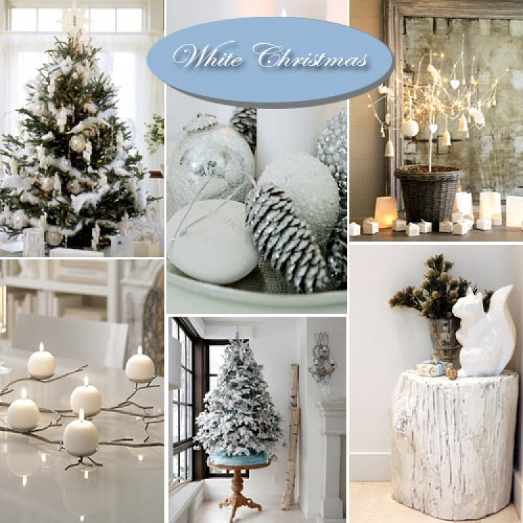 creative white christmas decoration 11