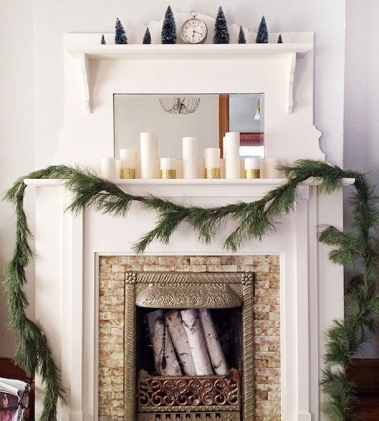 creative white christmas decoration 13
