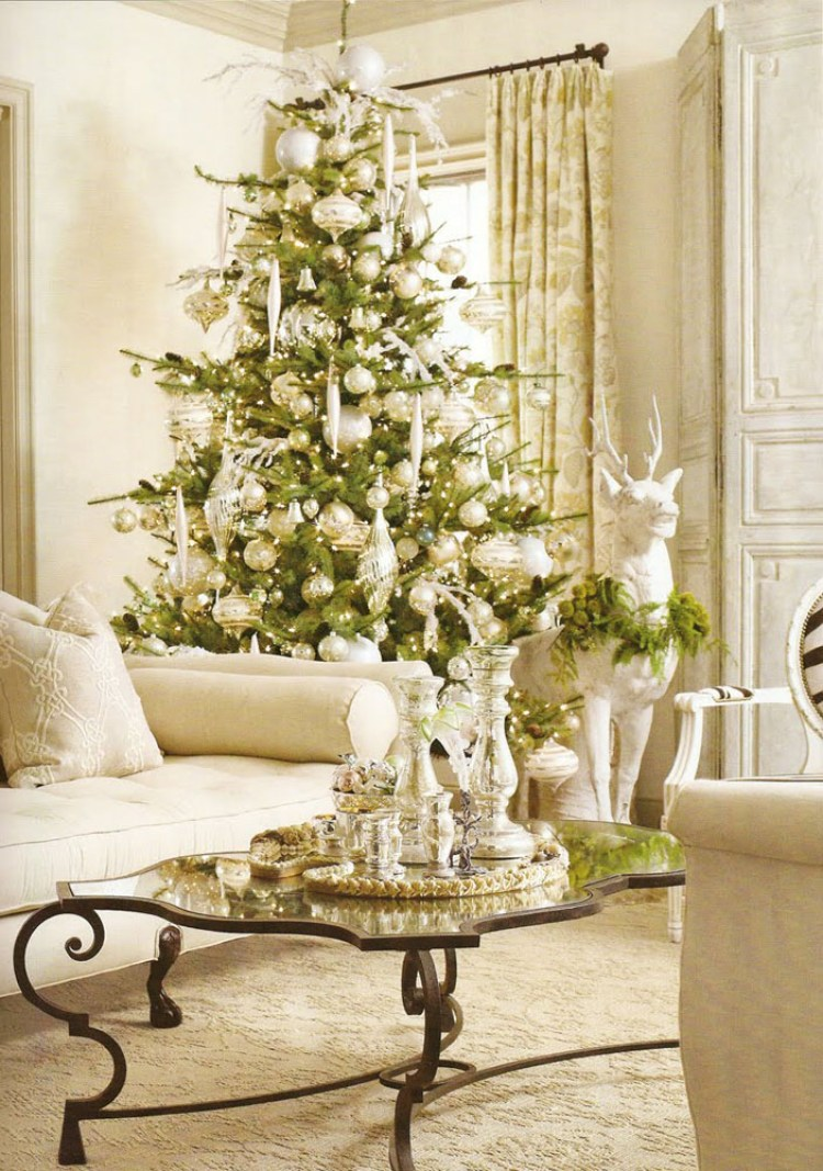 creative white christmas decoration 23