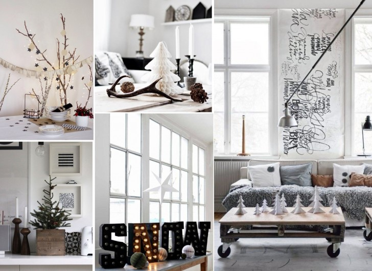 creative white christmas decoration 25