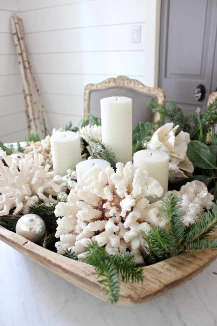 creative white christmas decoration 8