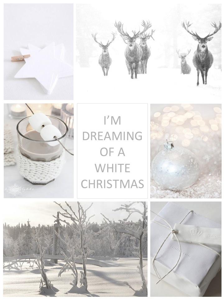 creative white christmas decoration