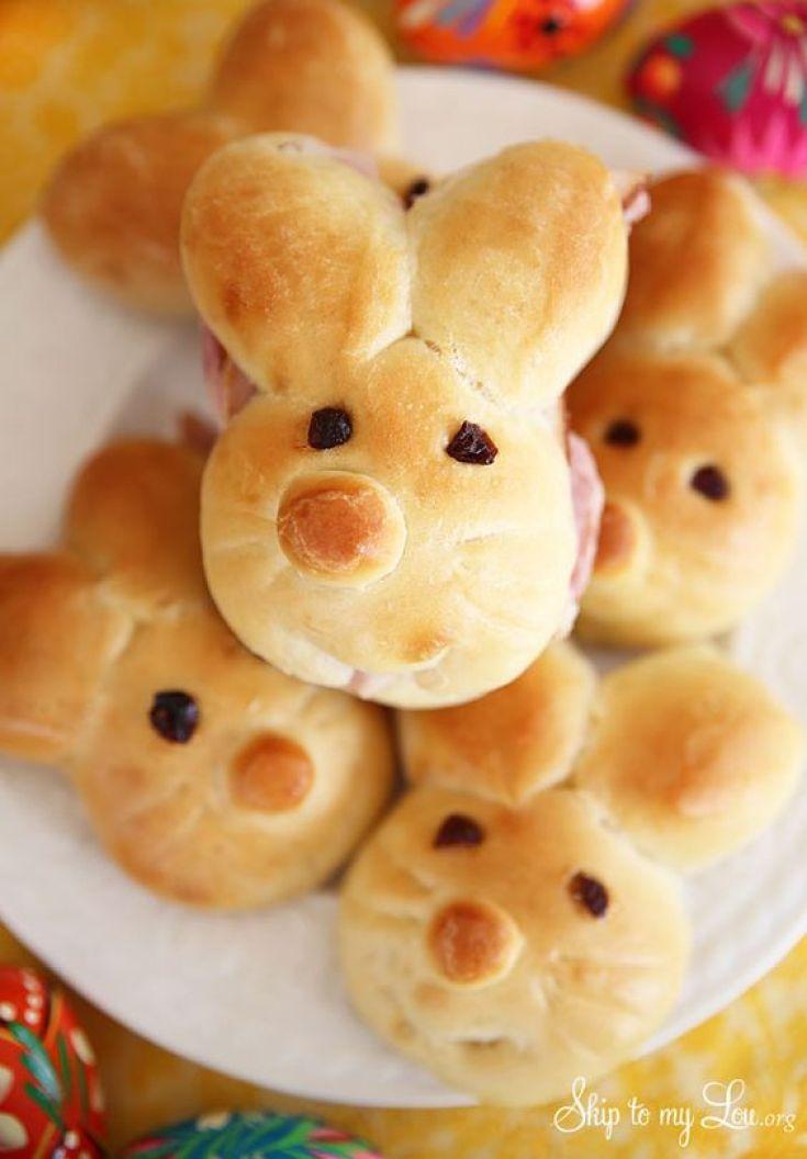 Creative Easter Food Ideas Bunny Rolls 2