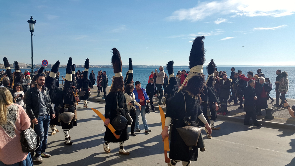 weird and unusual festival in Thessaloniki 12