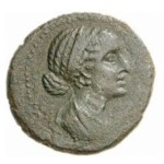 image of Cleopatra on coins 3
