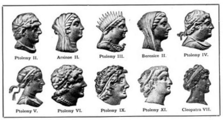 images of the Ptolemies