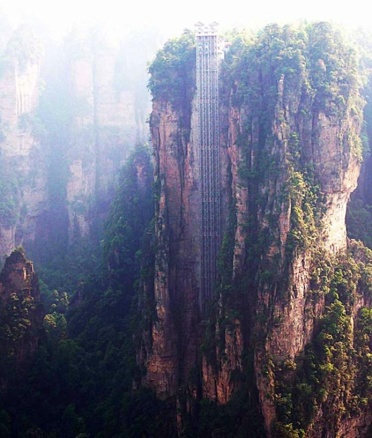 the tallest glass elevator, Hunan 3