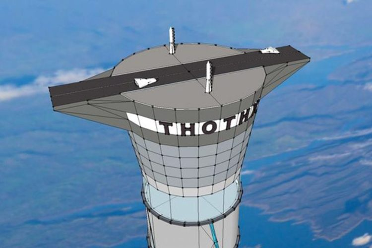 the project of the tallest space elevator 2