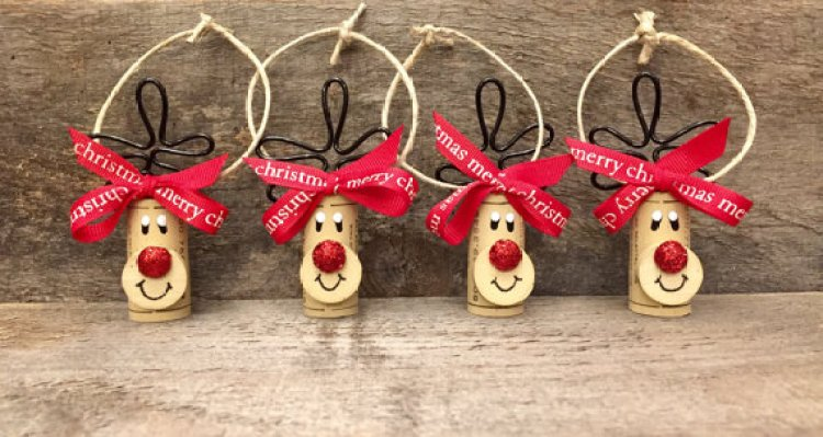 unusual holiday handmade crafts, reindeer 2