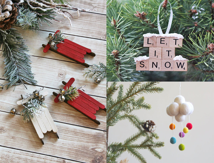 50 diy fun easy and unusual christmas ornaments