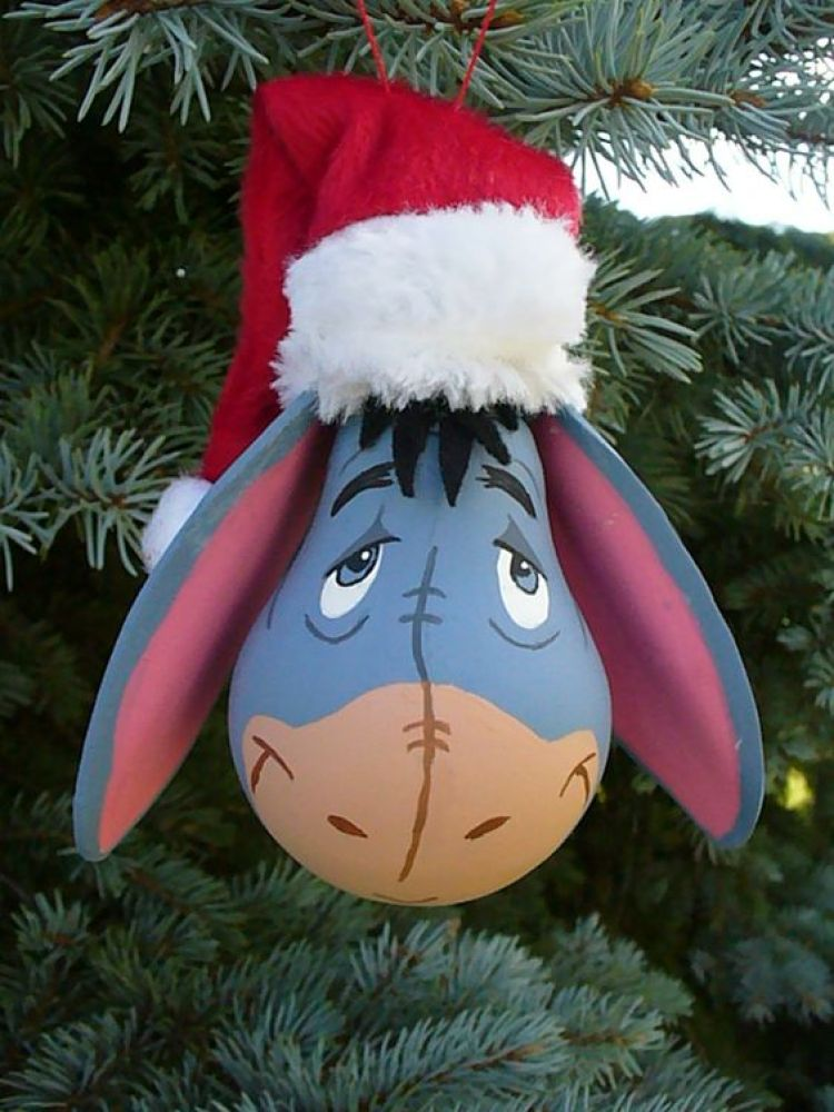 Donkey Christmas Ornaments.50 Diy Fun Easy And Unusual Christmas Ornaments Moco Choco