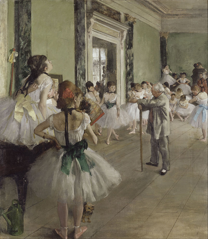 art history, most popular paintings done by famous painters, The dance class