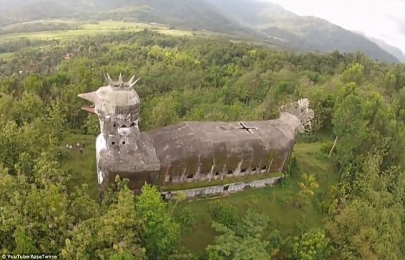 Indonesian Unusual Chicken church 2