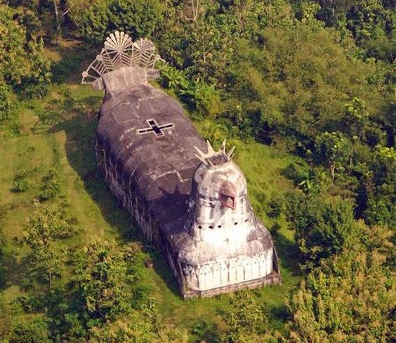 Indonesian Unusual Chicken church