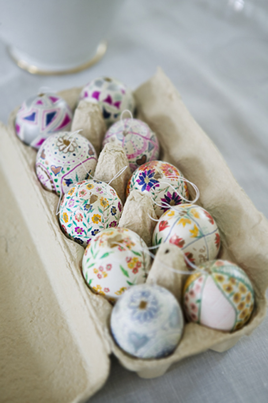 fun ideas to color easter eggs 19