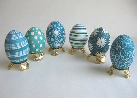 fun ideas to color easter eggs 13