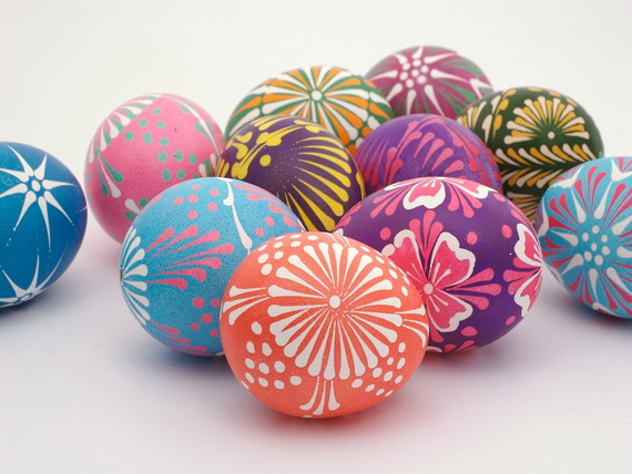 fun ideas to color easter eggs 14
