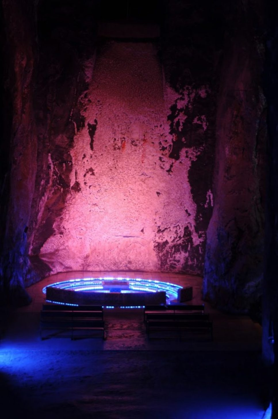 salt cathedral in Zipaquirá, Columbia 7