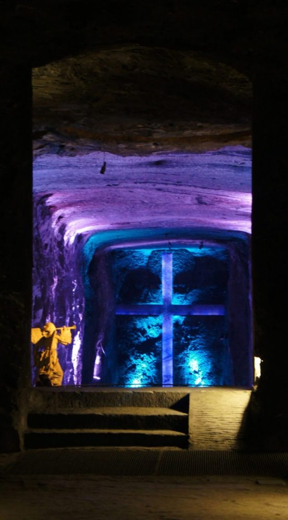 salt cathedral in Zipaquirá, Columbia 13