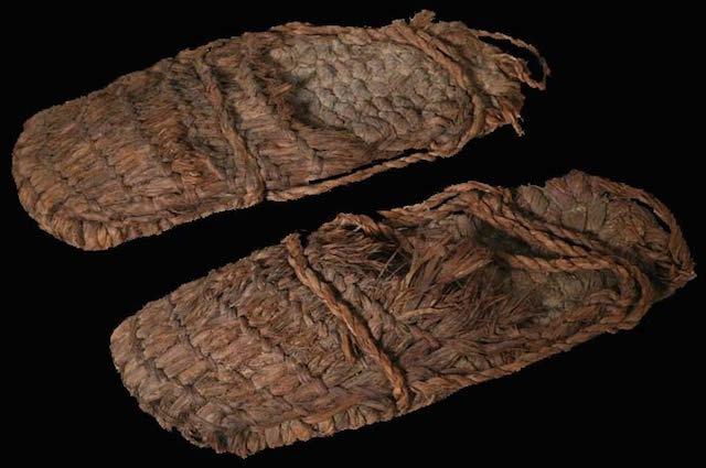 Oldest Objects Ever Found, footwear