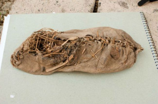 Oldest Objects Ever Found, leather shoe