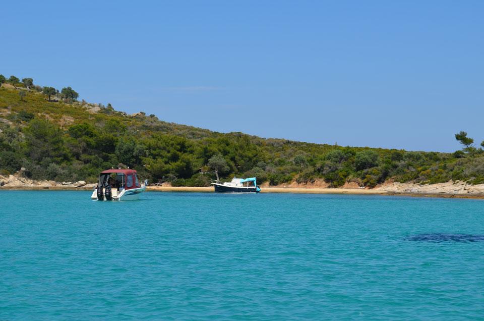 beautiful beach in Halkidiki 14