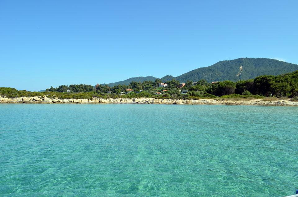 beautiful beach in Halkidiki 18