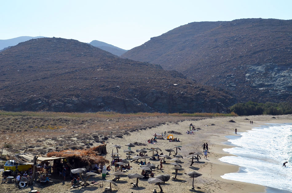 the best beach bar in Greece, Tinos 6