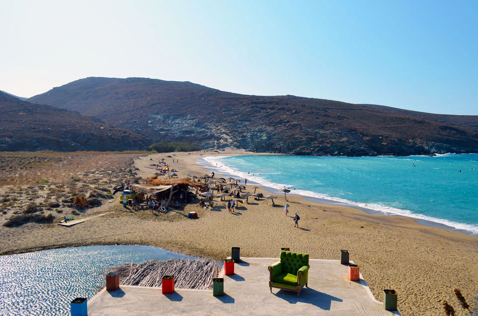the best beach bar in Greece, Tinos 15