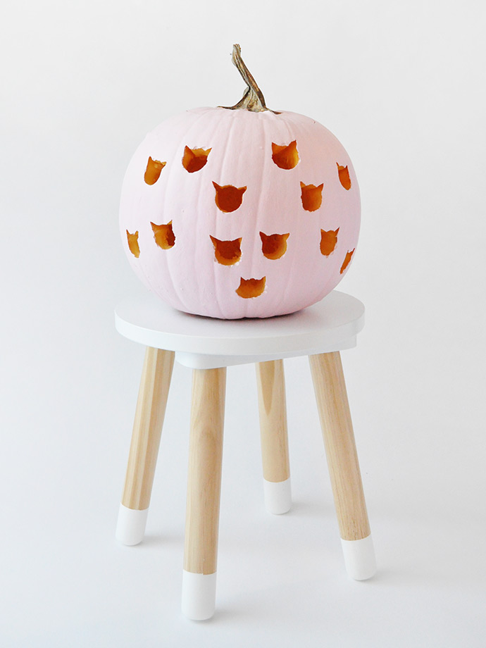 best halloween no carve pumpkin decor ideas 7