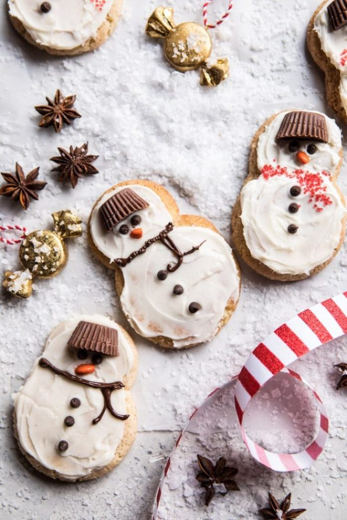 Creative snowman recipes for christmas table 6