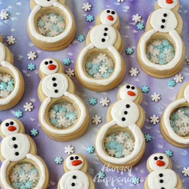 Creative snowman recipes for christmas table 16