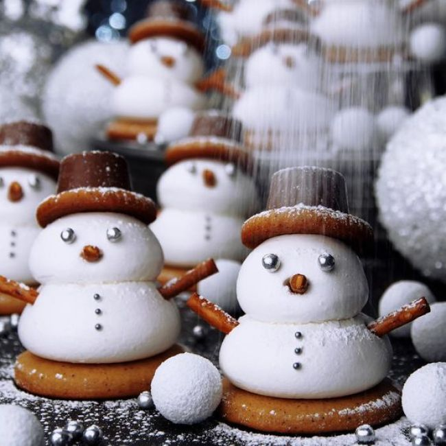 Creative snowman recipes for christmas table 2