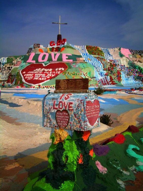 nghệ thuật khác thường trên khắp thế giới, California 17