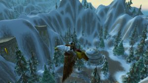 Flying Over Ironforge