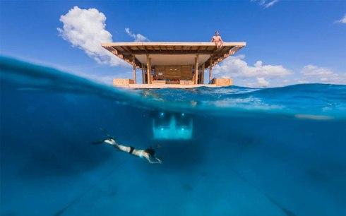 Africa's First Underwater Hotel Room Manta Resort 2