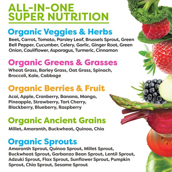 Organic Superfood - All in one explanation