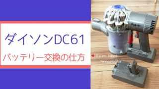 ダイソンDC61アイキャッチ