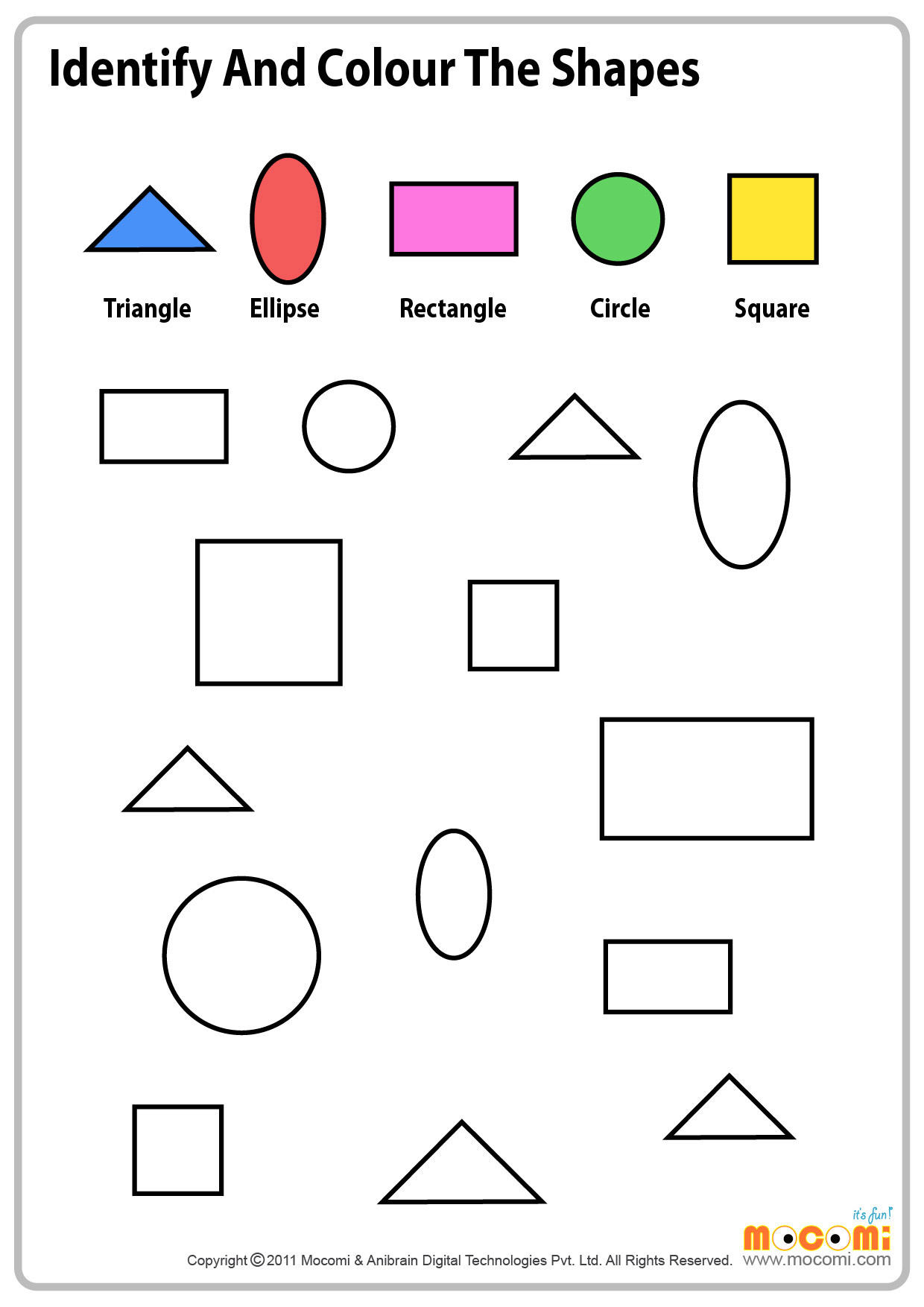 Top And Bottom For Worksheets Preschoolers Top Best Free