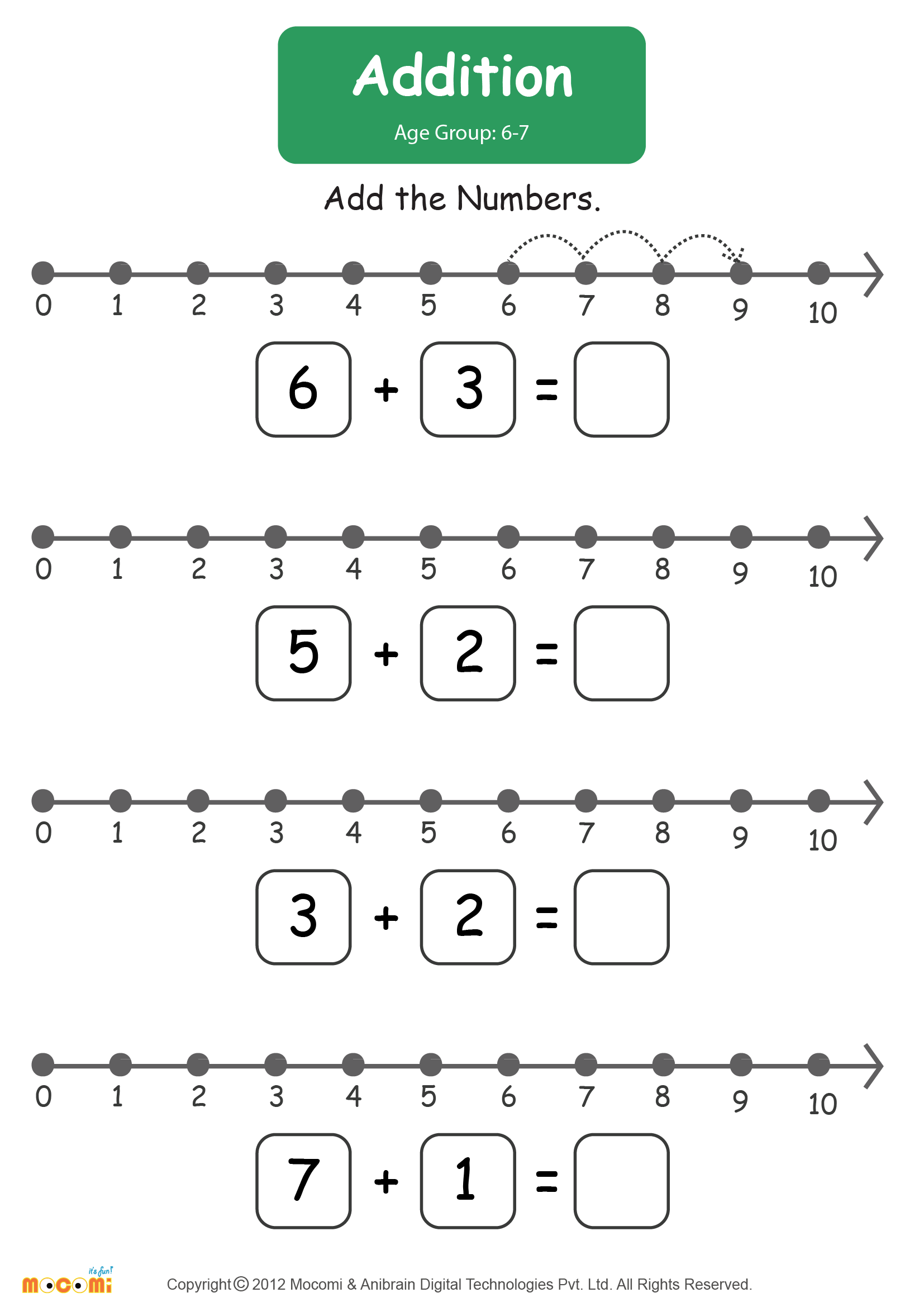Worksheet Number Line Addition Worksheets Worksheet Fun Worksheet Study Site