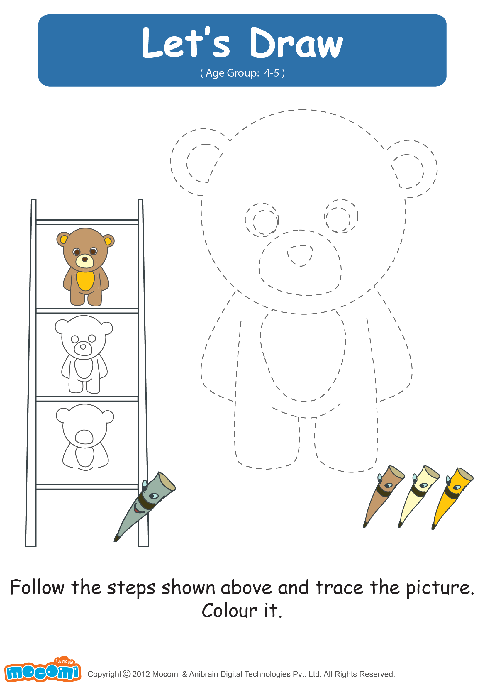 Let S Draw A Teddy