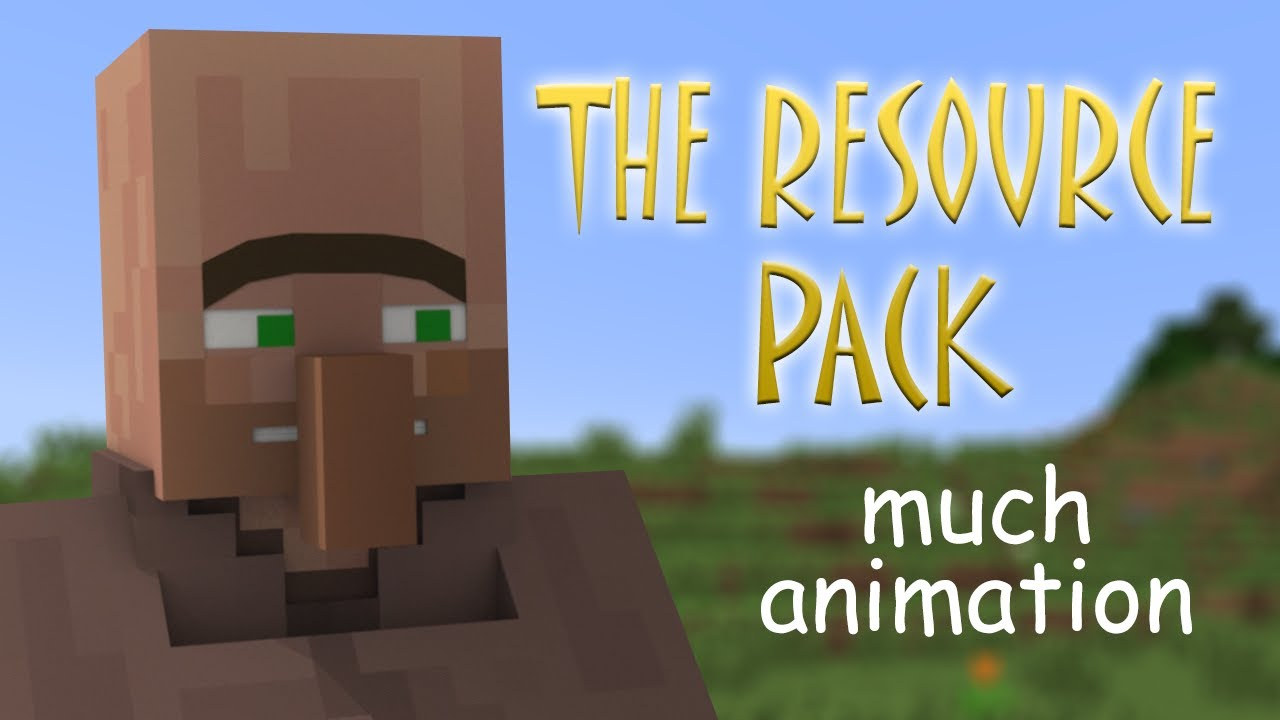 The Element Animation Villager Sounds Resource Pack 181