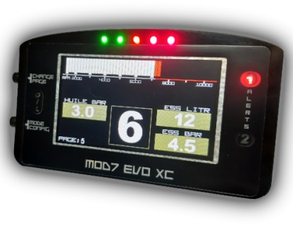 EvoXC2021 Bargraph Flat