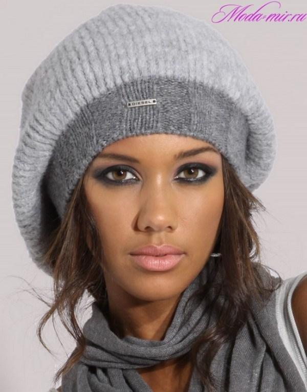 Модные вязаные шапки осень зима 2018 2019 фото для женщин ...